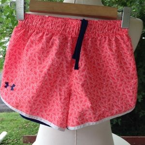 Girls under armour shorts.